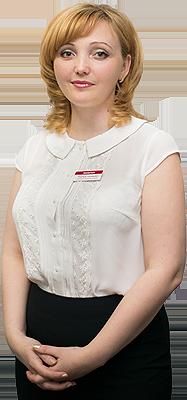 Надежда Голубцова - руководитель клиентского отдела