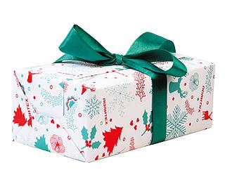 Упаковка в брендированную бумагу (коробка)