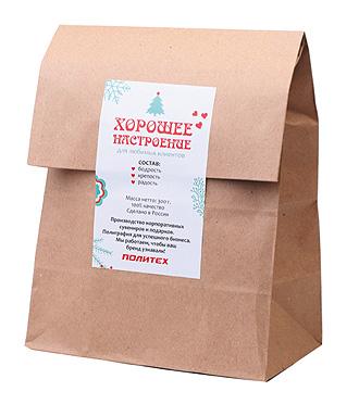 Упаковка в крафт-пакет