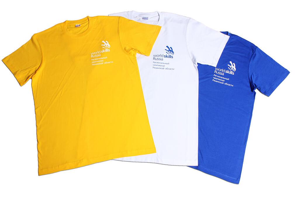 футболки для спортивных соревнований
