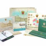 Комплект протокольных подарков для Центрального таможенного управления